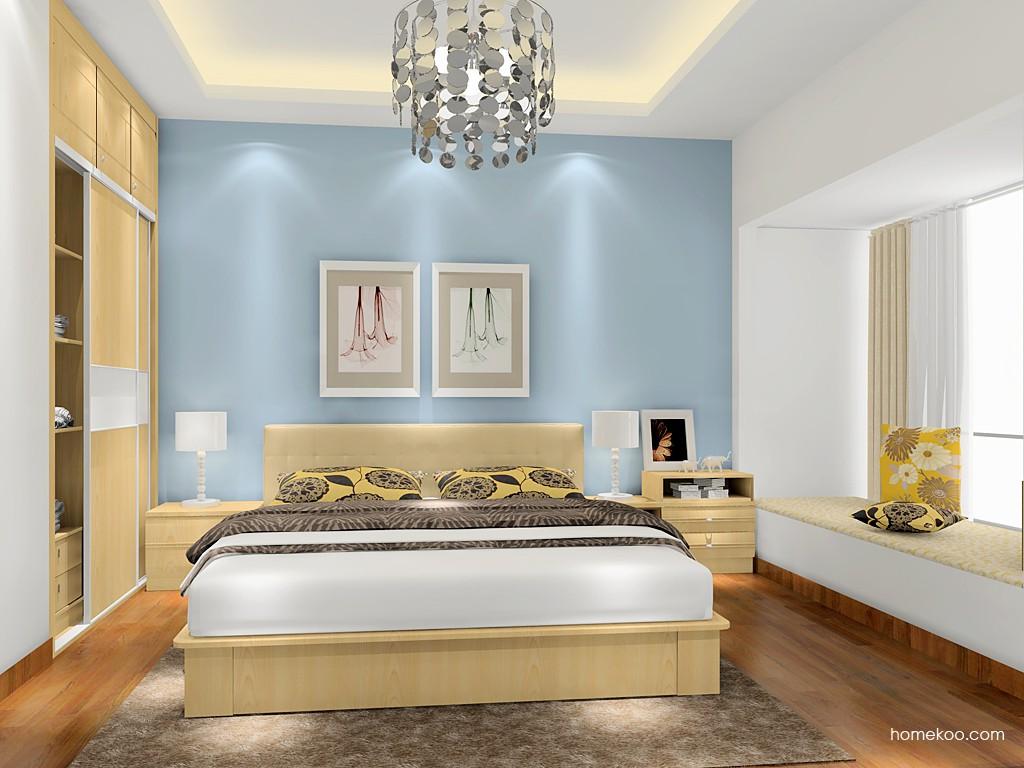 新实用主义卧房家具A17393