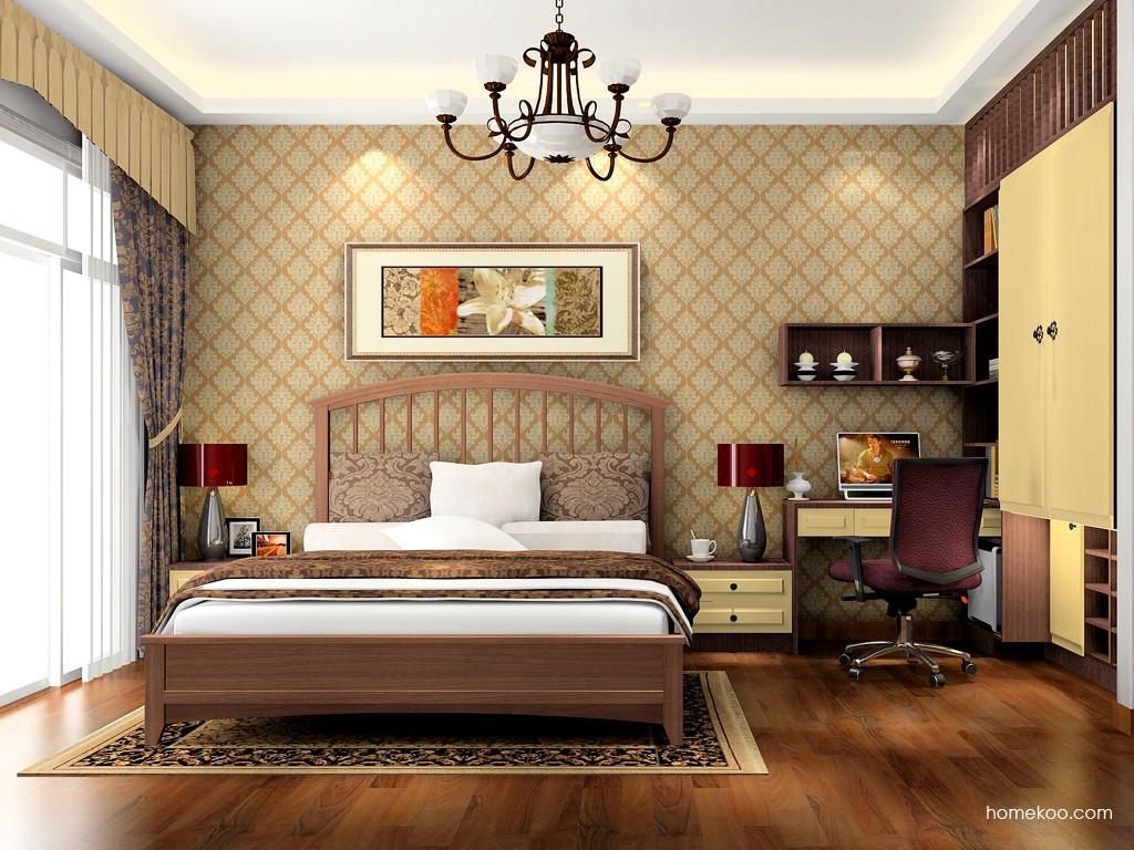 卡罗摩卡卧房家具A17394