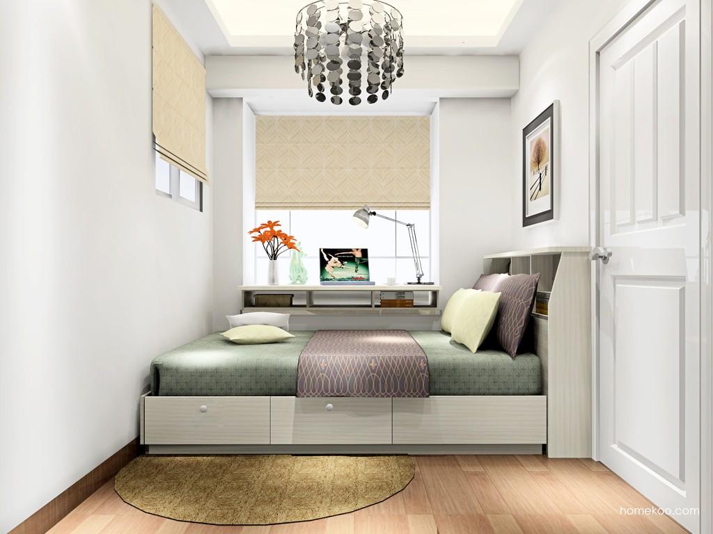 米兰剪影卧房家具A17395