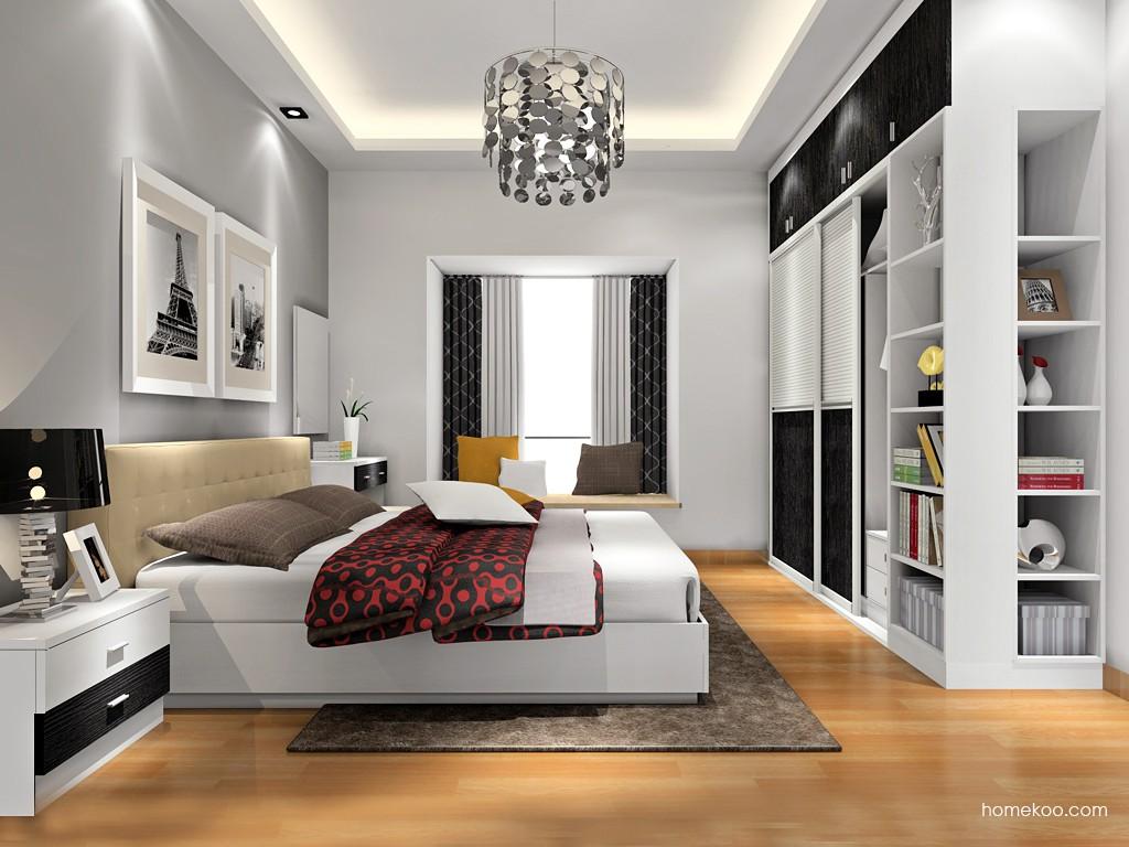 简约主义卧房家具A16660