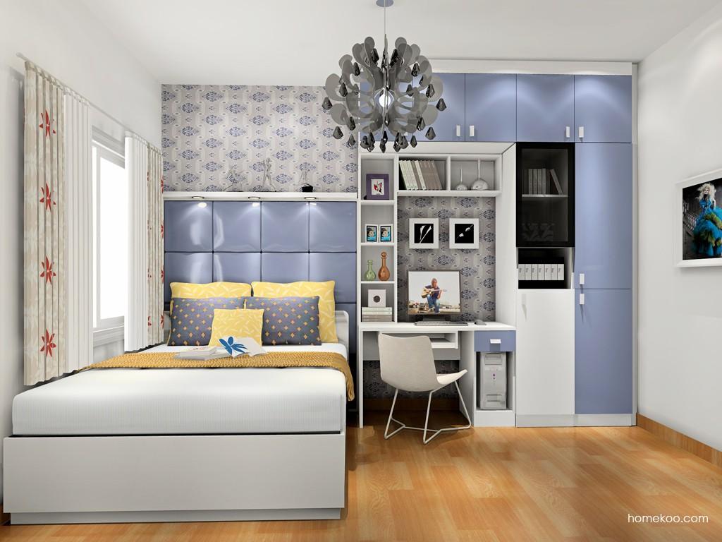 新实用主义卧房家具A17396