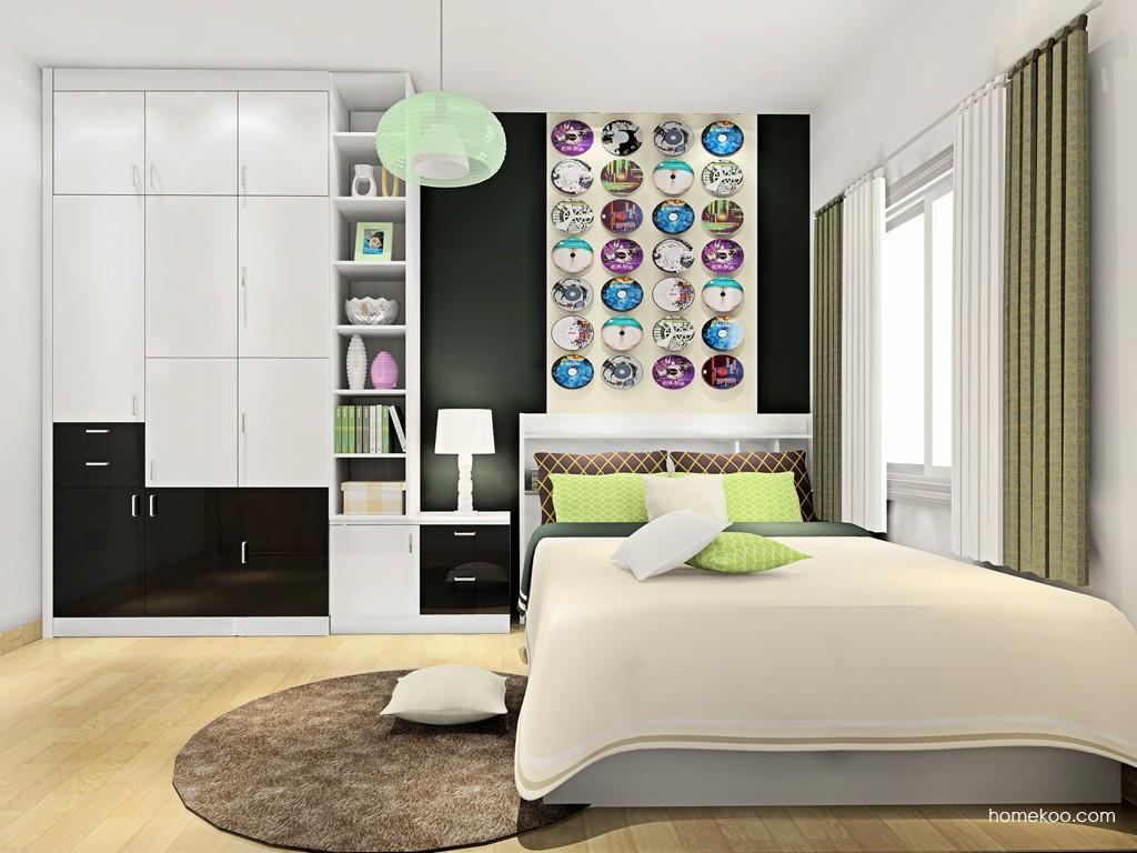 新实用主义卧房家具A17398