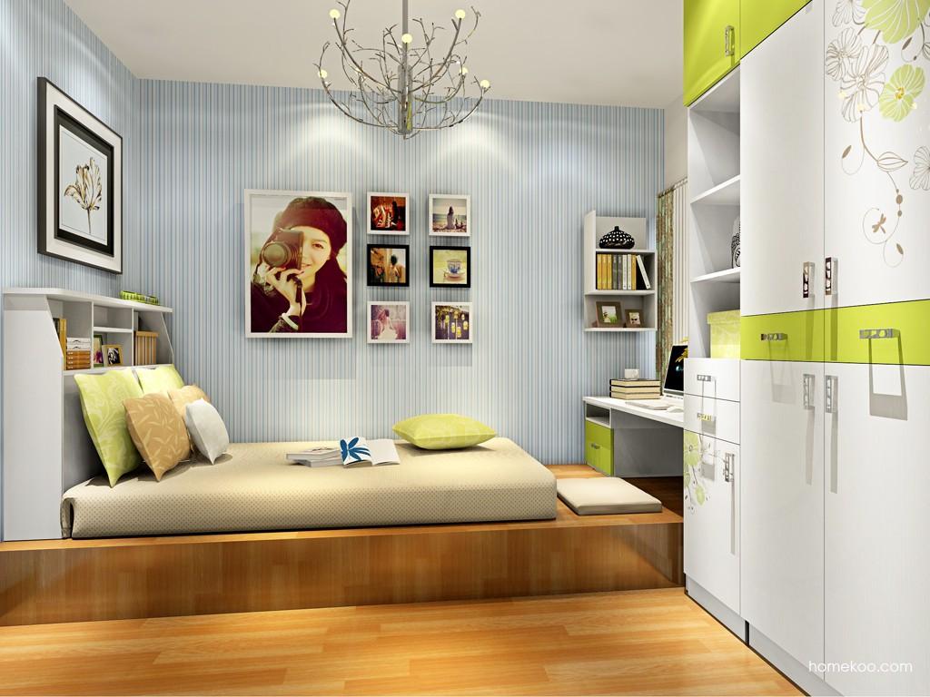 里昂春天卧房家具A17409