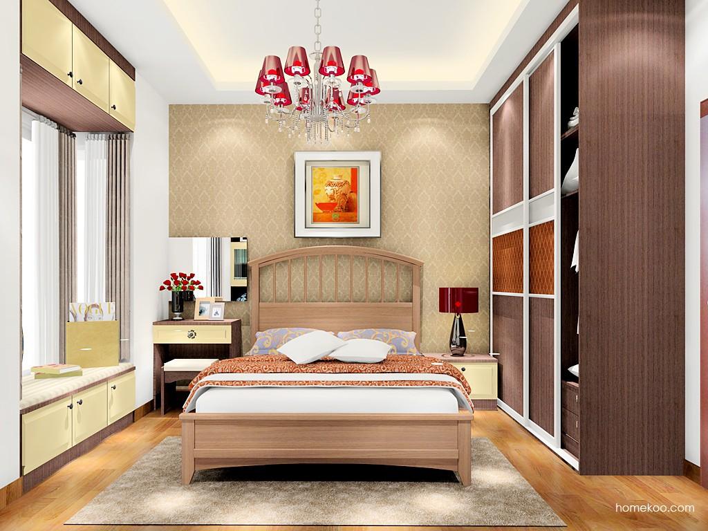卡罗摩卡卧房家具A17410