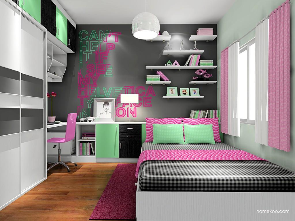 女孩的梦青少年房B17389