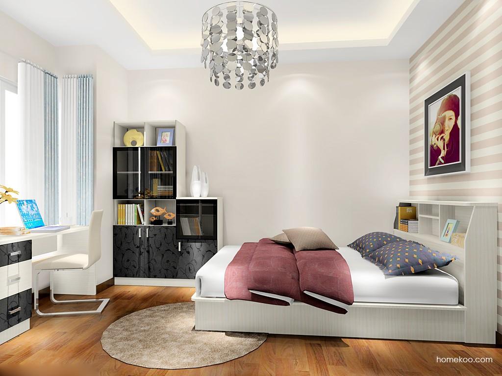 米兰剪影卧房家具A17419