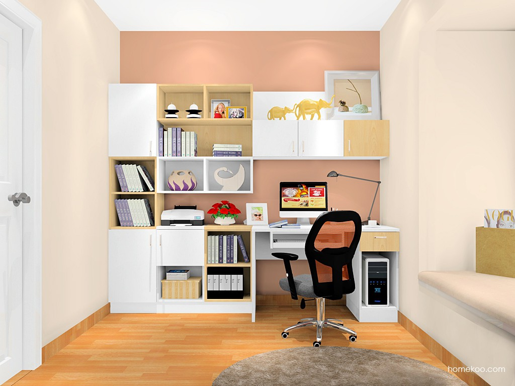 新实用主义书房家具C17465