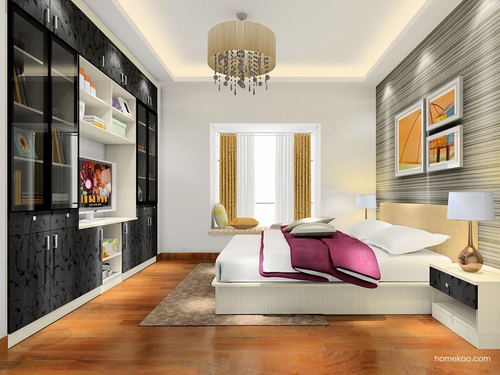 米兰剪影卧房家具A17435