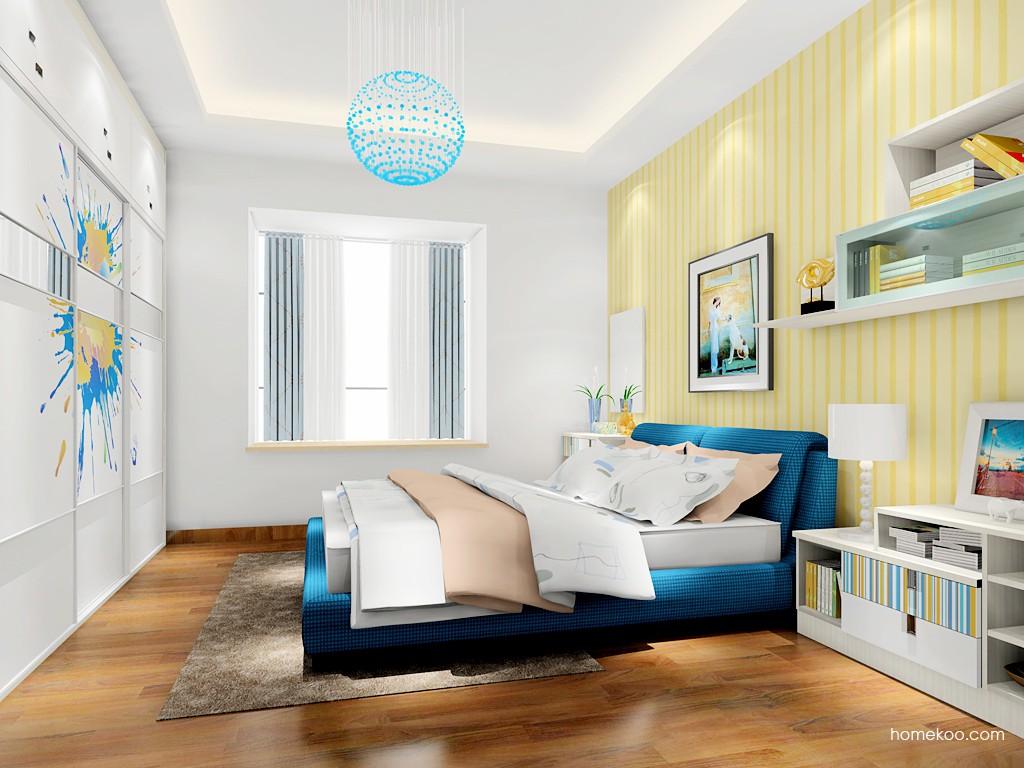 首尔之缤卧房家具A17436