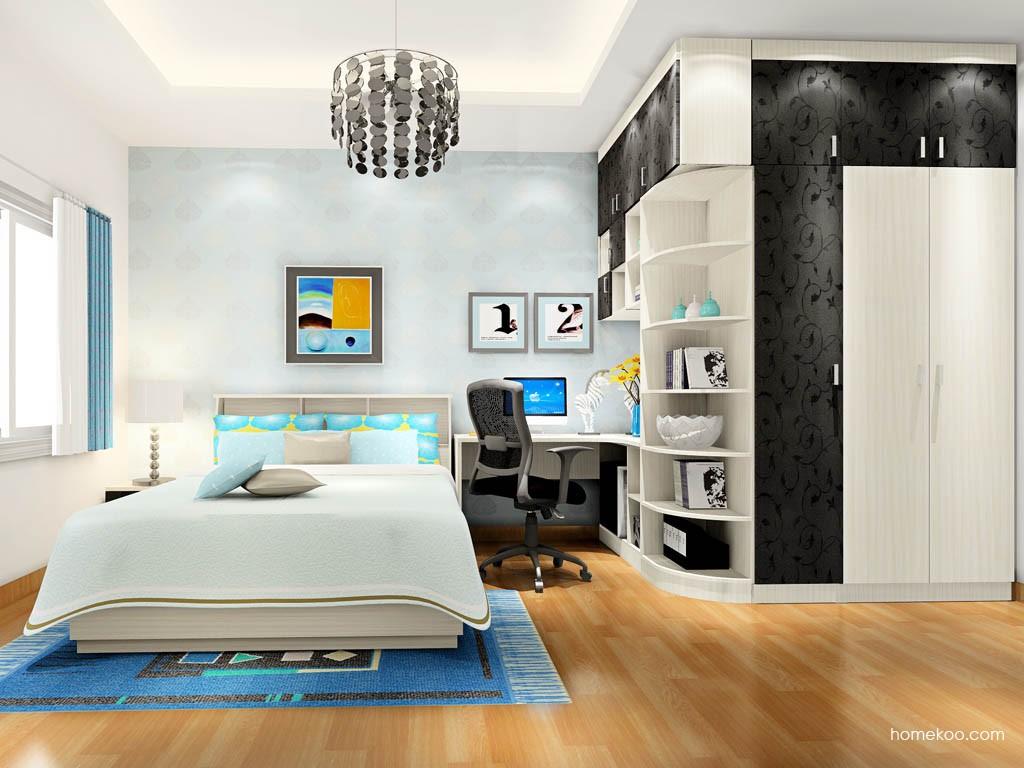 米兰剪影卧房家具A17451
