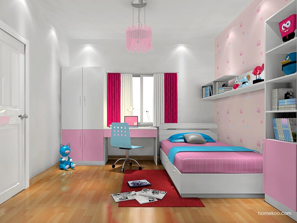 女孩的梦青少年房B17408