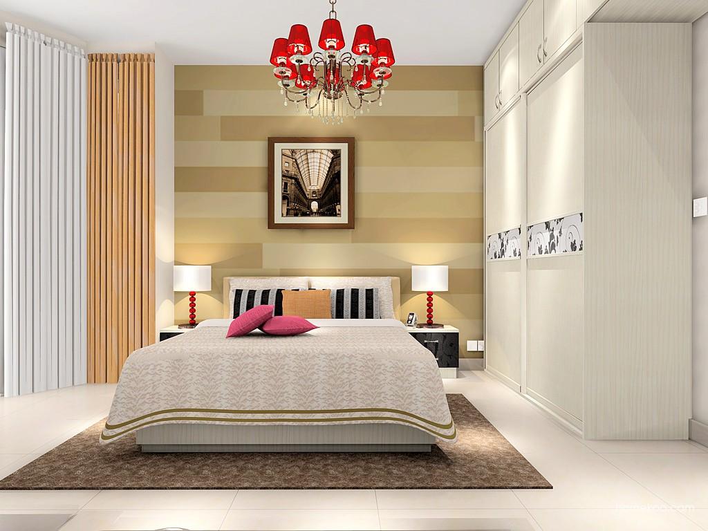 米兰剪影卧房家具A17469