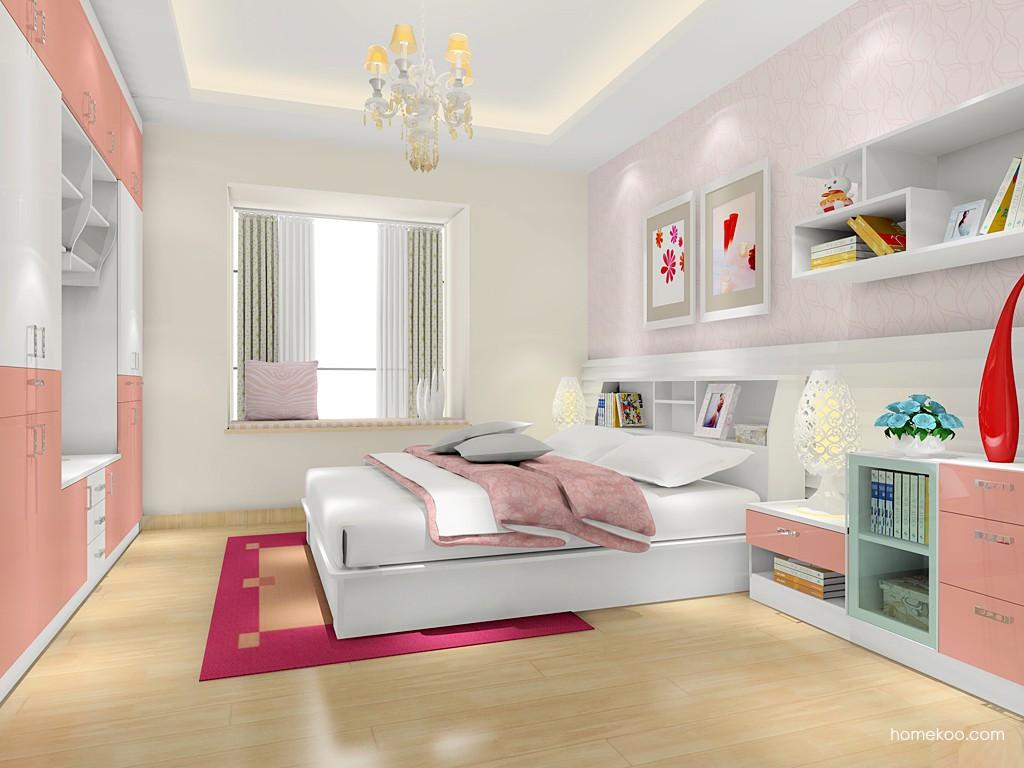 浪漫主义卧房家具A17482