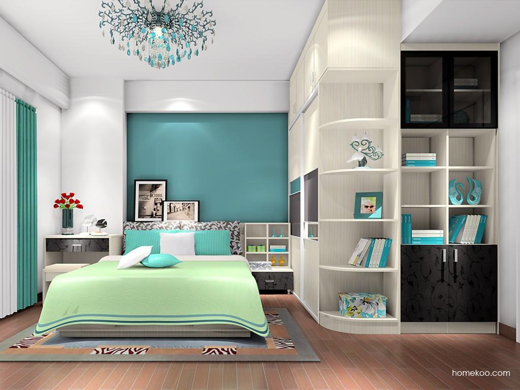 米兰剪影卧房家具A17519
