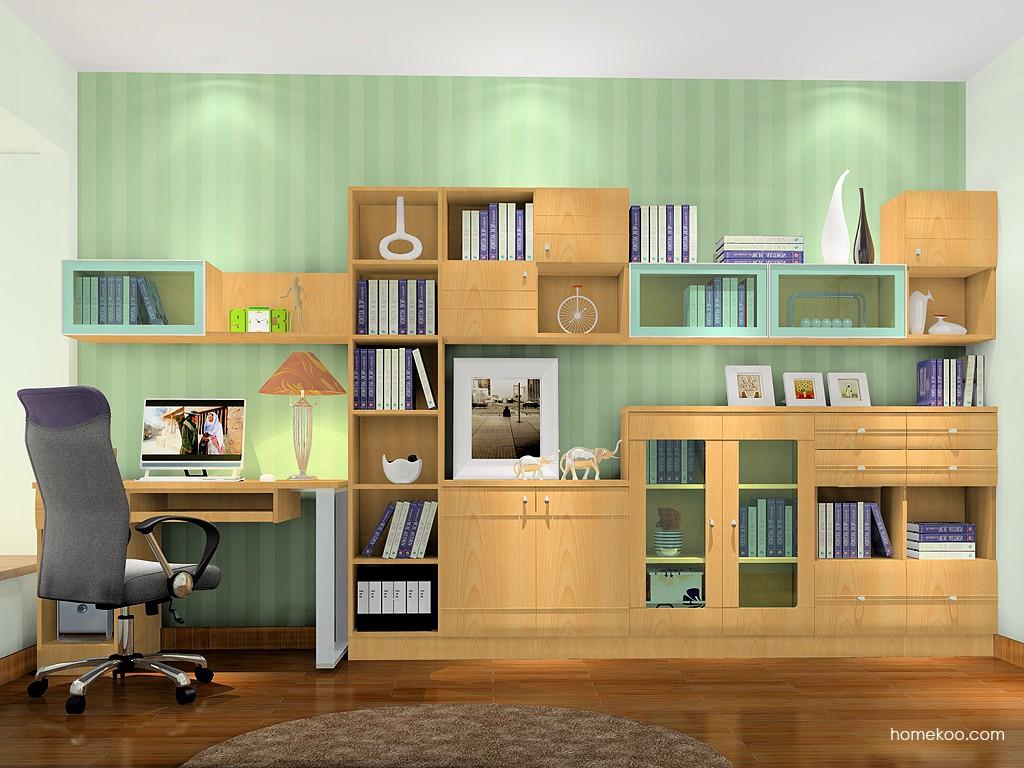 北美枫情书房家具C17556
