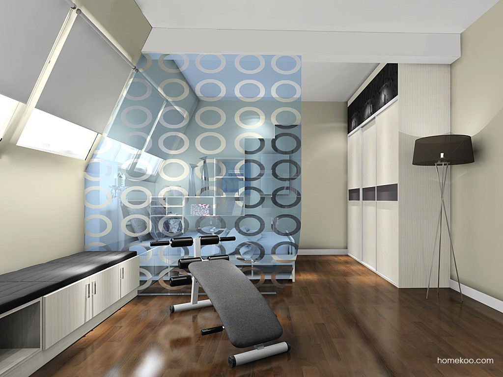 米兰剪影卧房家具A17521