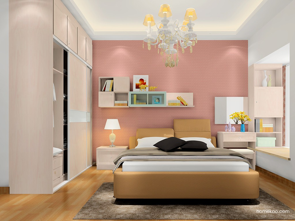 北欧阳光卧房家具A17534
