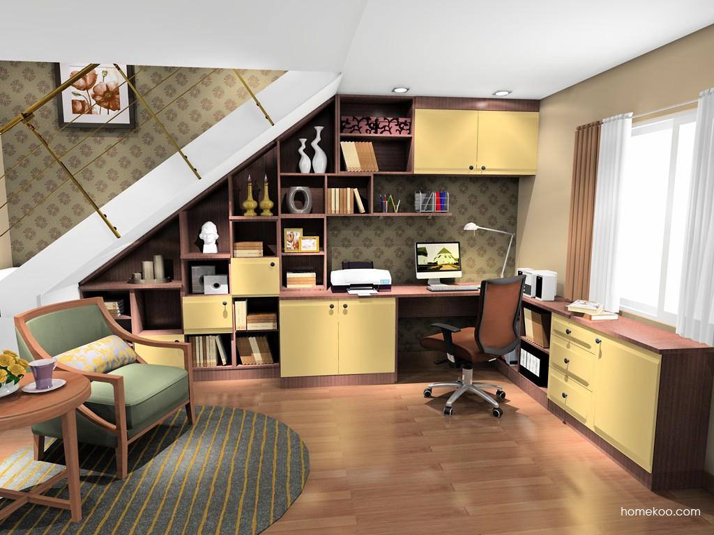 卡罗摩卡书房家具C17570