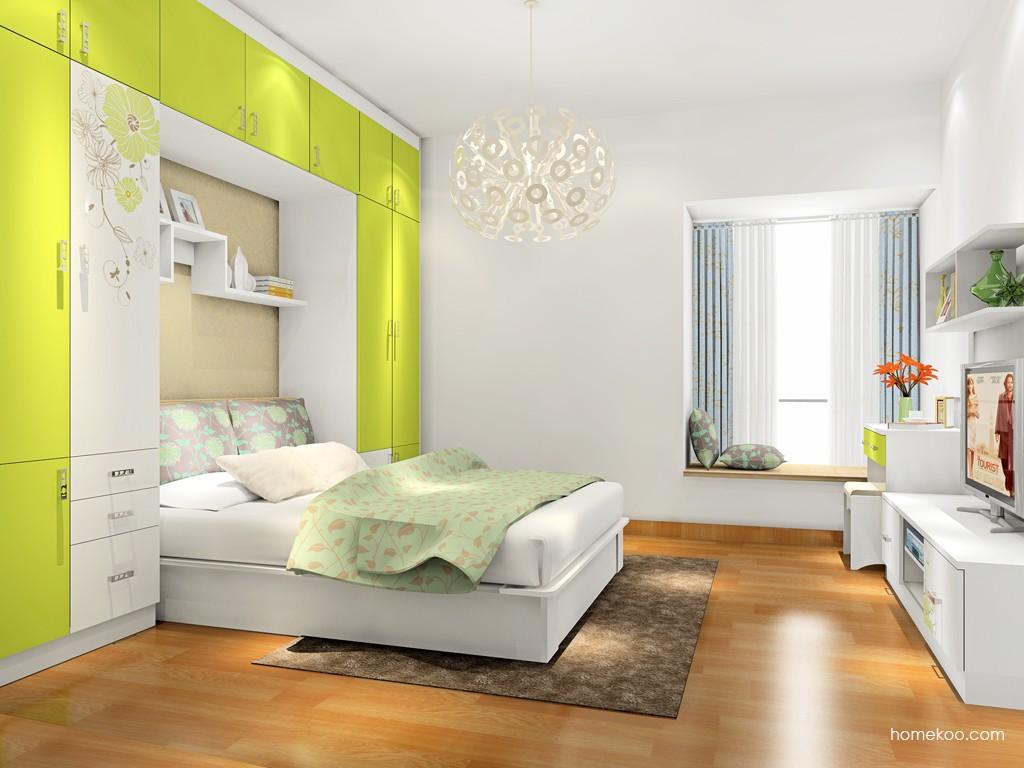 里昂春天卧房家具A17541