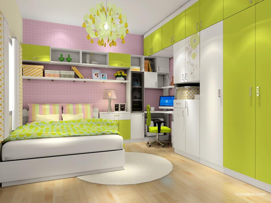 里昂春天卧房家具A17522