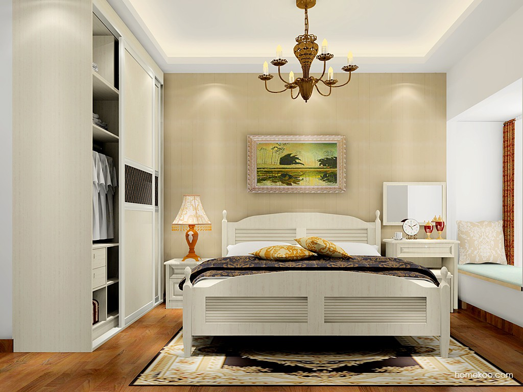 英伦印象卧房家具A17555