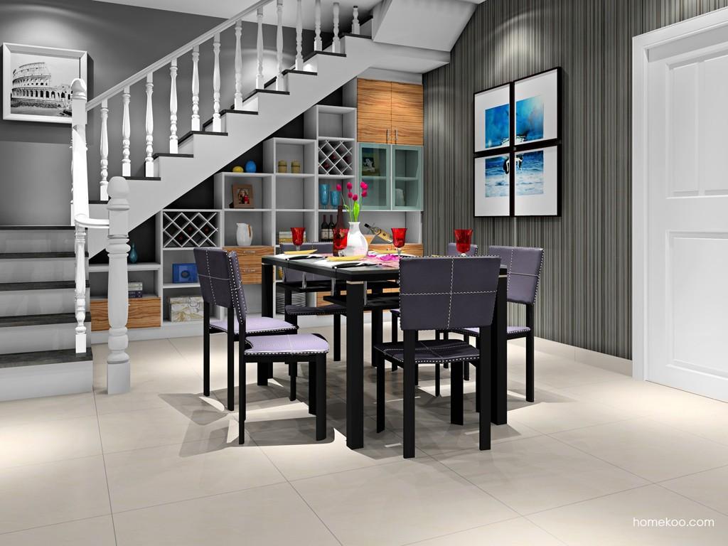 新实用主义餐厅家具E16681