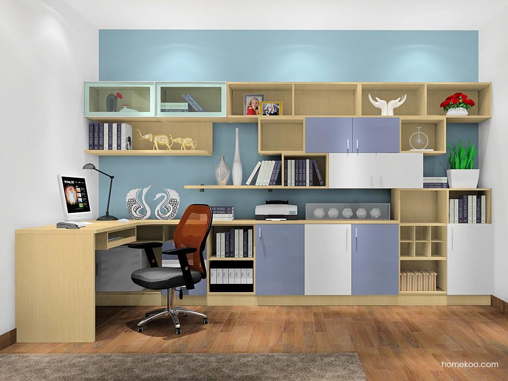 新实用主义书房家具C17613