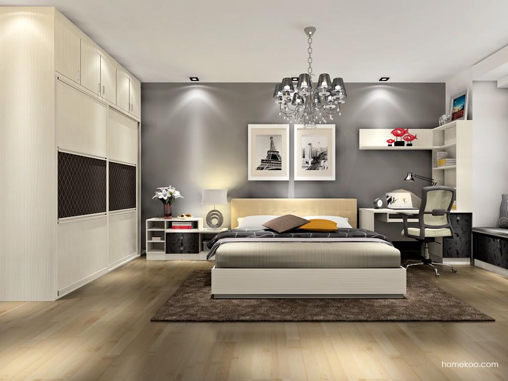 米兰剪影卧房家具A17564