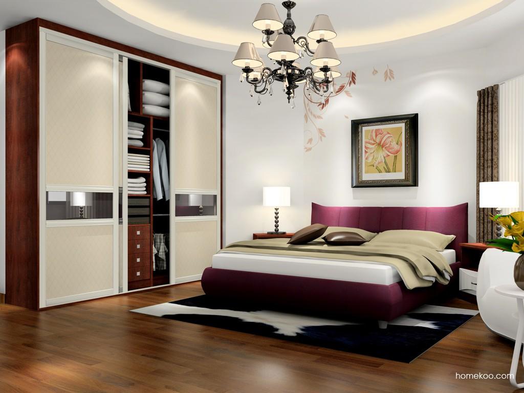 挪威月色卧房家具A17576