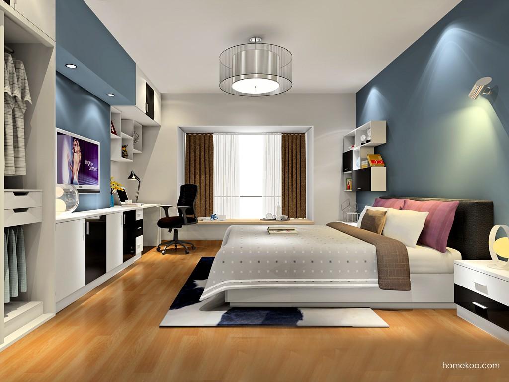 简约主义卧房家具A17578