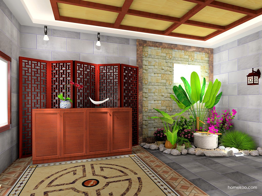 新中式主义客厅家具D16731