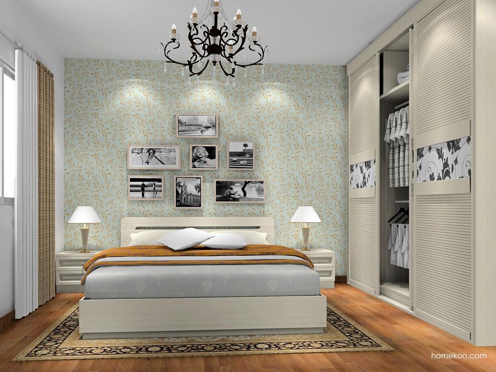 英伦印象卧房家具A17595