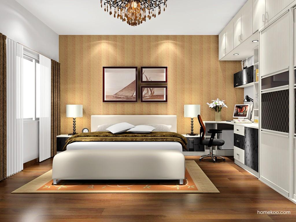 米兰剪影卧房家具A17598