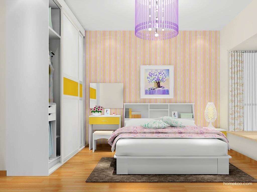 浪漫主义卧房家具A17603