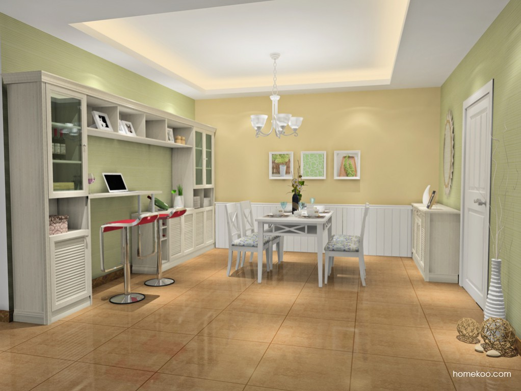 英伦印象餐厅家具E16697