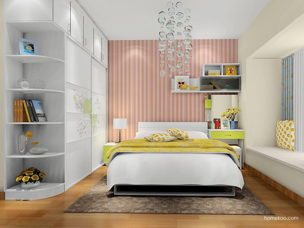 里昂春天卧房家具A17619
