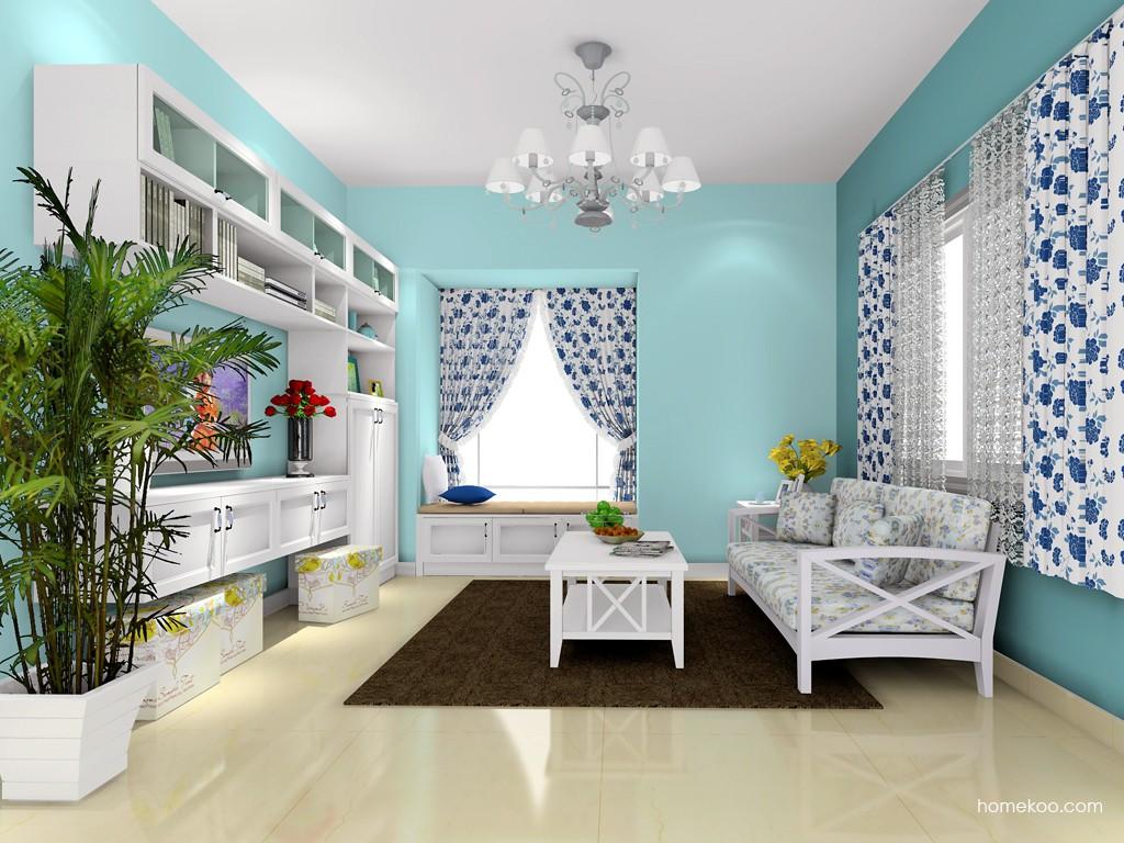 韩式田园客厅家具D16743