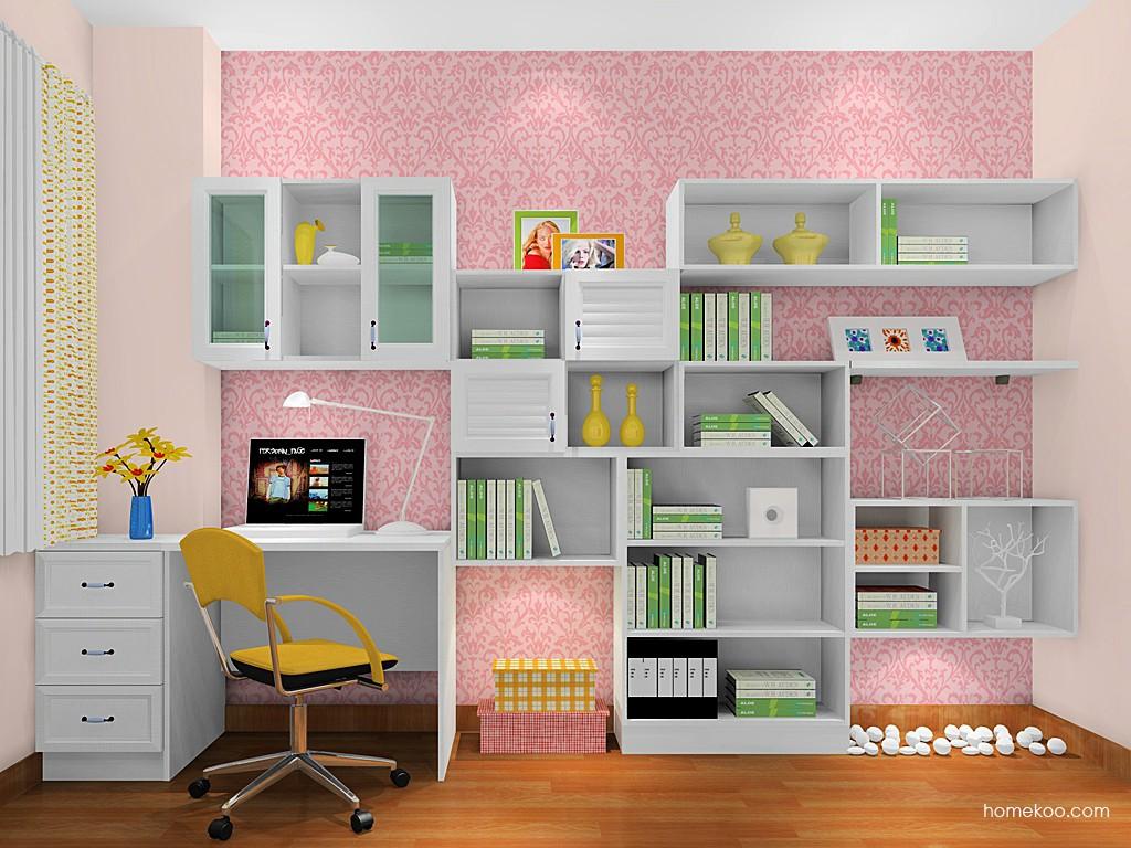 韩式田园书房家具C17716