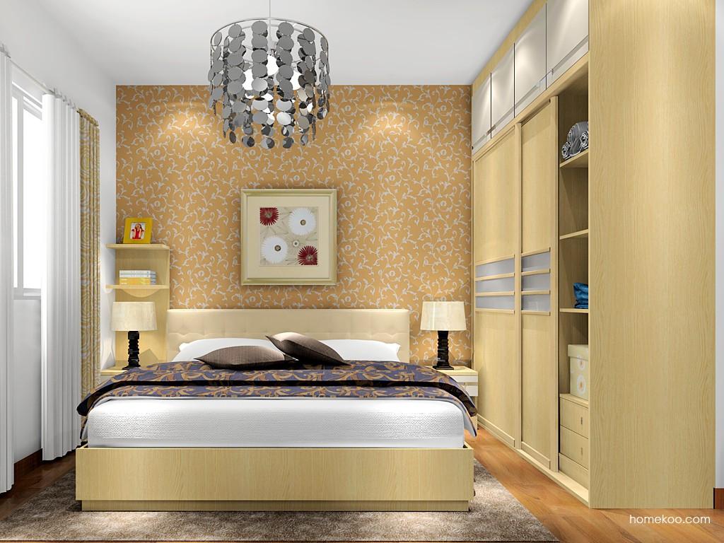 新实用主义卧房家具A17637