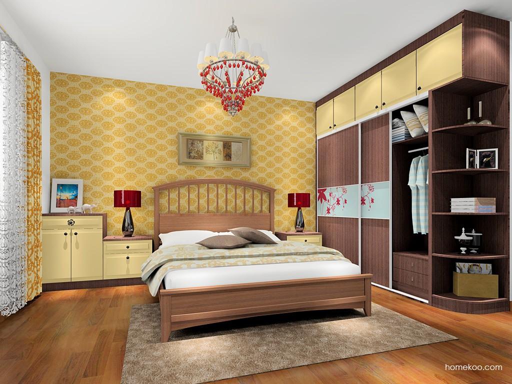 卡罗摩卡卧房家具A17638