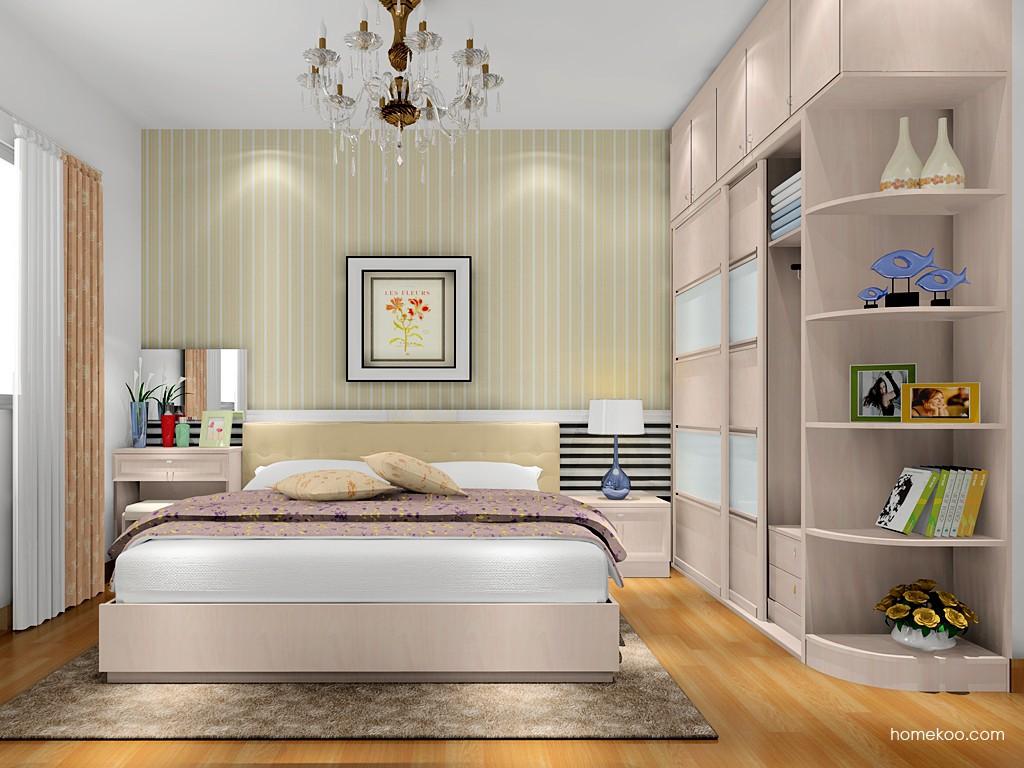 北欧阳光卧房家具A17639