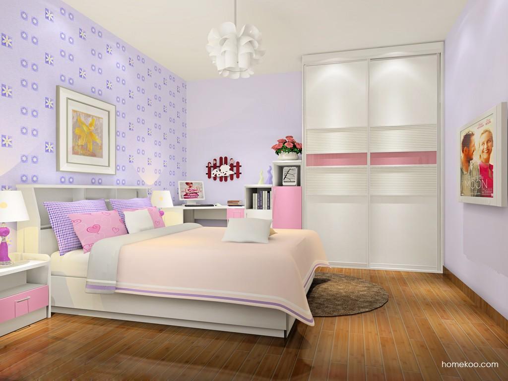 新实用主义卧房家具A17642
