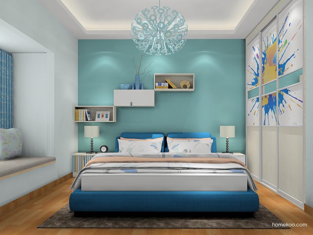 首尔之缤卧房家具A17643