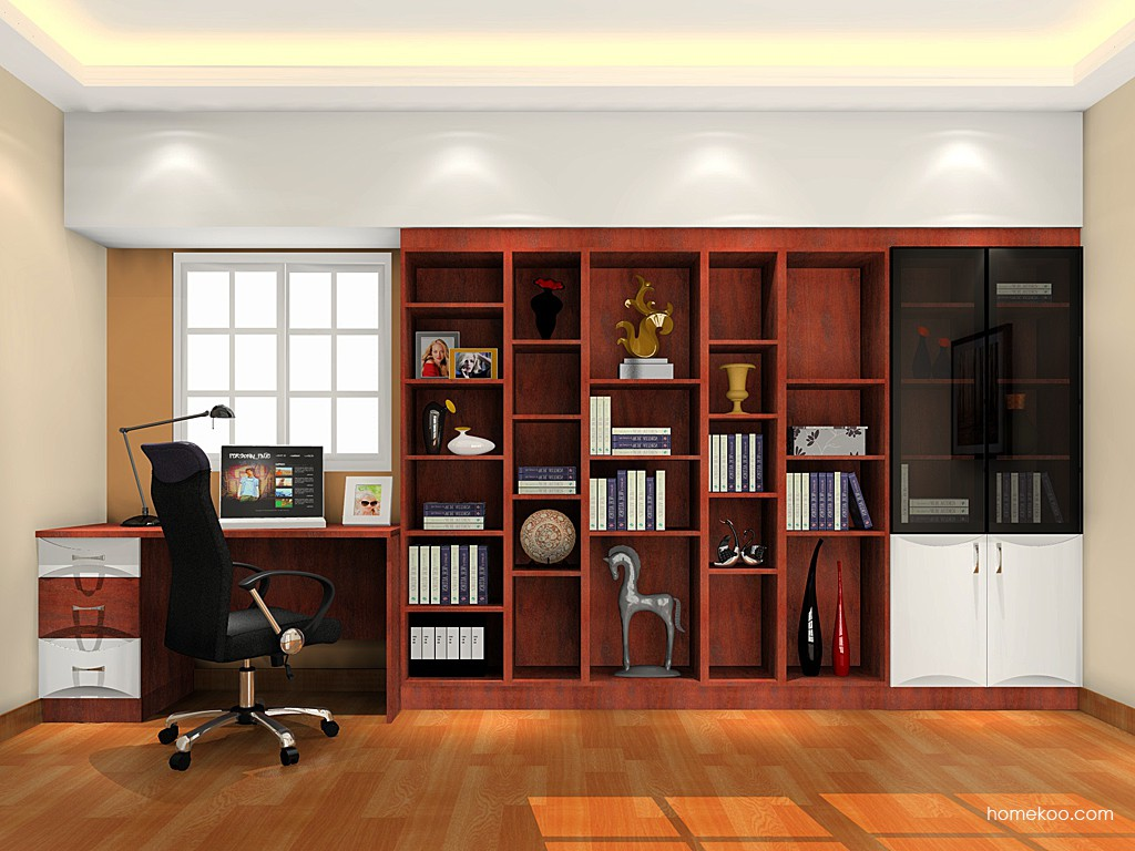 挪威月色书房家具C17736