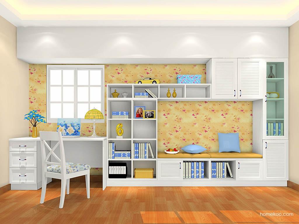 韩式田园书房家具C17738