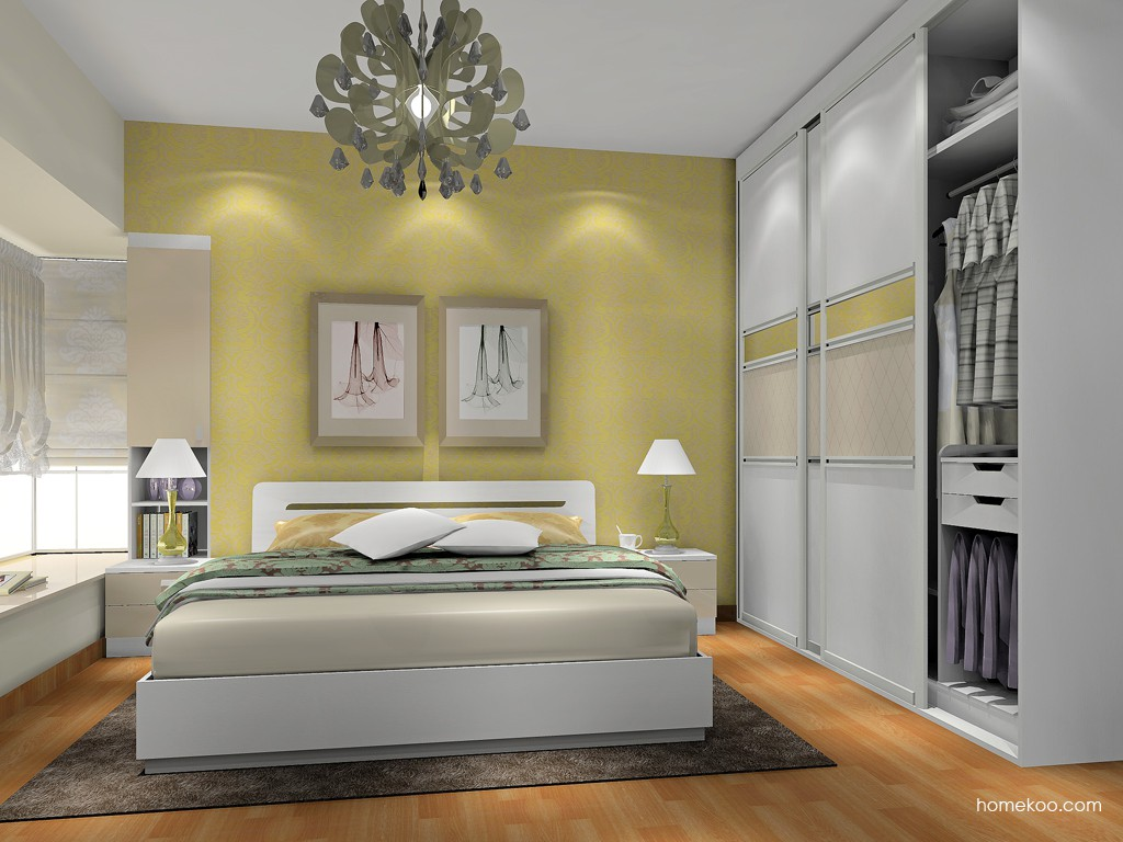 新实用主义卧房家具A17650
