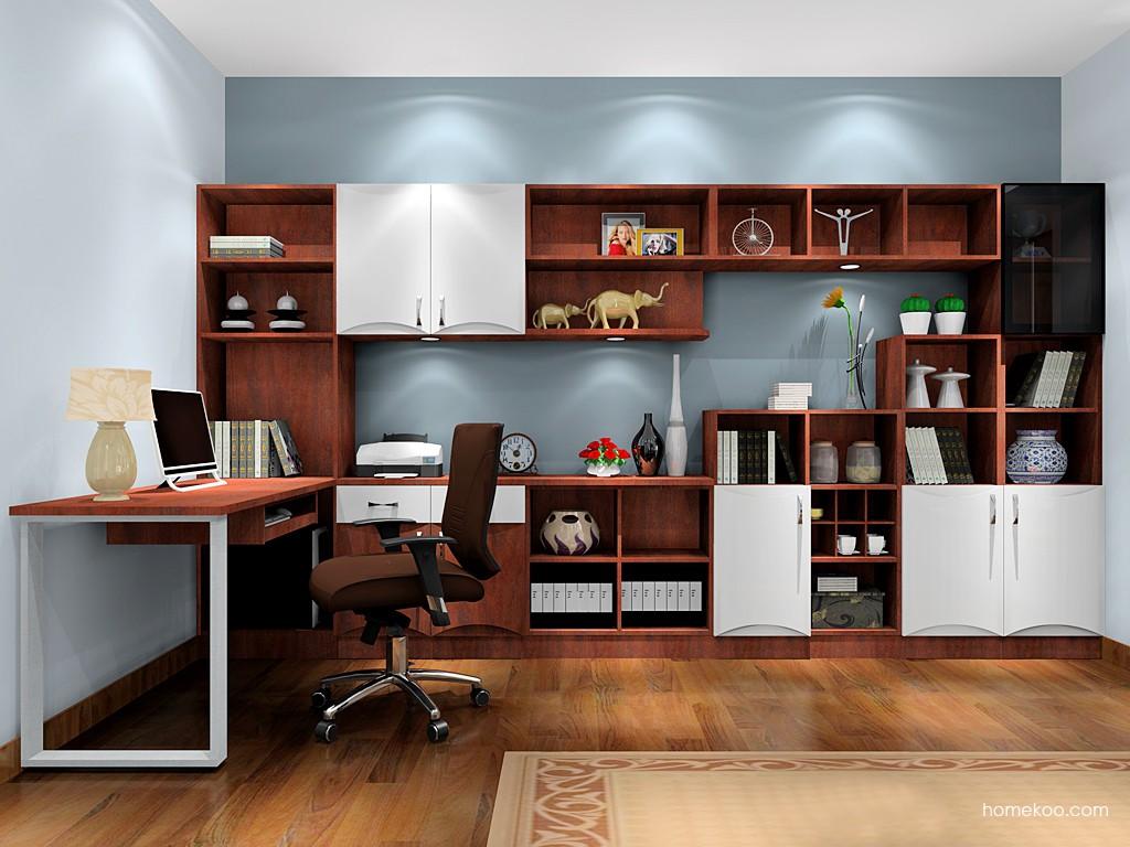 挪威月色书房家具C17745