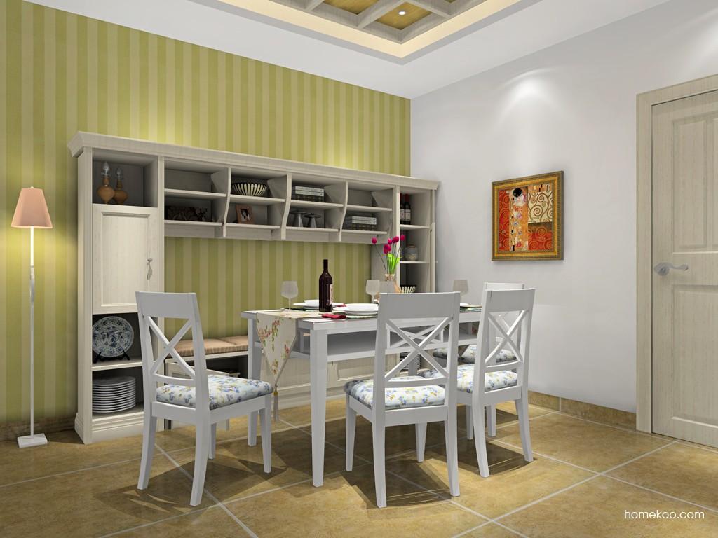 英伦印象餐厅家具E16707