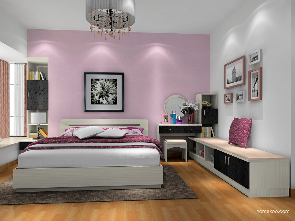 米兰剪影卧房家具A17652