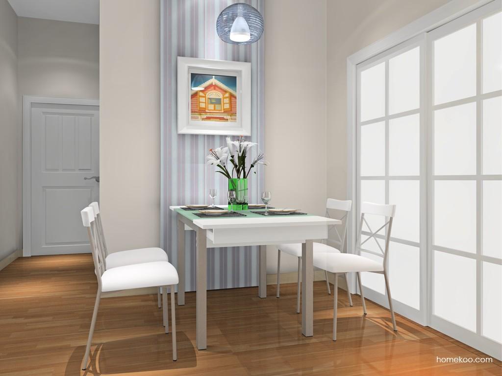 北欧阳光餐厅家具E16709